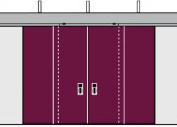 Телескопические ворота